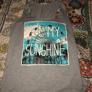 Be my sunshine tank top